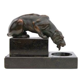 Bronze Lioness Sculpture, Circa 1900 For Sale