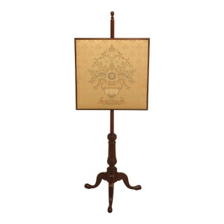 Kittinger CW-92 Colonial Williamsburg Mahogany Fire Screen