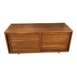 Modern Lyndon Shutter Style Buffet For Sale