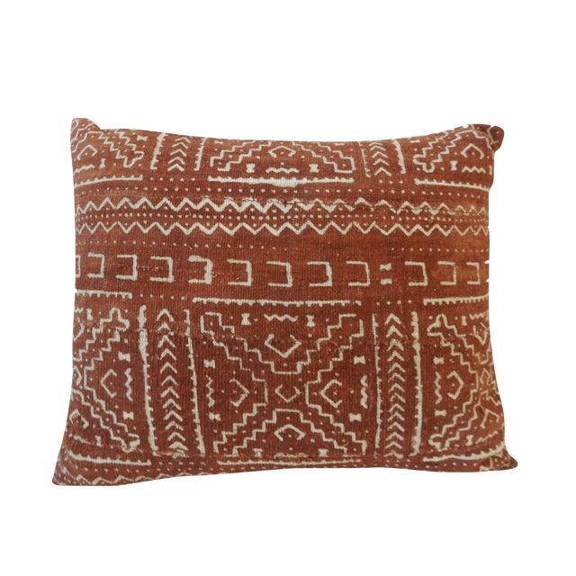 Malian Mud Cloth Pillow - Image 1 of 5