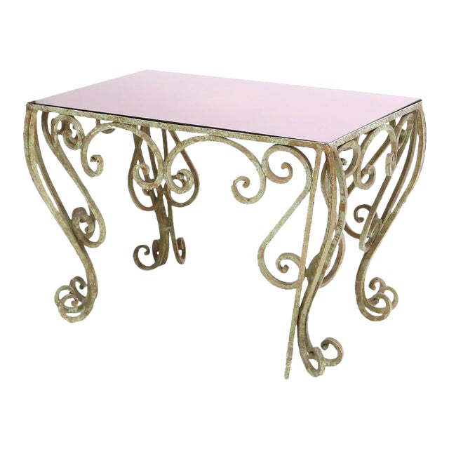 Wrought Iron Coffee Table For Sale