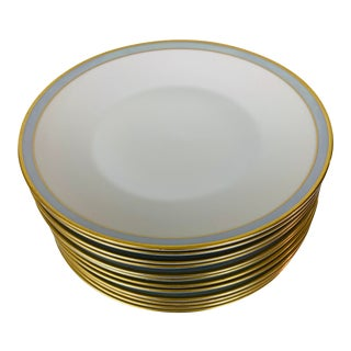 Mid-Century Rosenthal Porcelain Salad Plates - Set of 12 For Sale