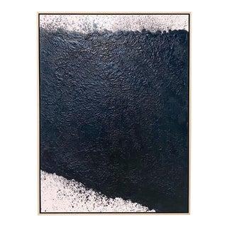 """Exclusive John O'Hara """"Tar, 16"""" Encaustic Painting"""