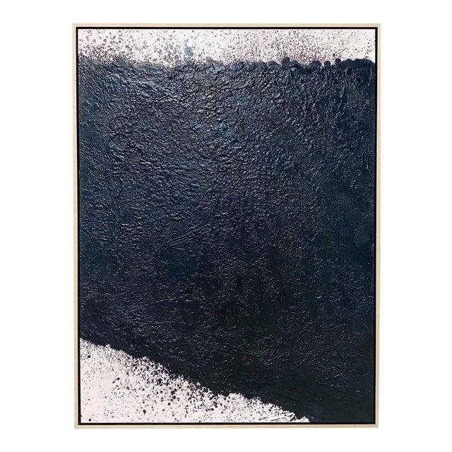 """Exclusive John O'Hara """"Tar, 16"""" Encaustic Painting For Sale"""