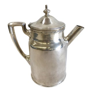 1924 Gorham Hotel Silver Coffee Server