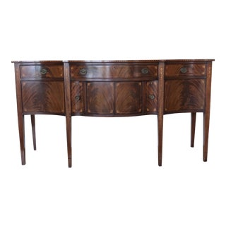 19th Century Hepplewhite Style Sideboard Buffet For Sale