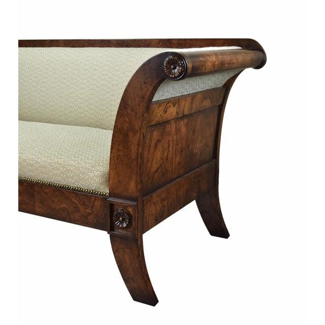 William Switzer 2000's William Switzer Classic Austrian Biedermeier Style Sofa For Sale - Image 4 of 10