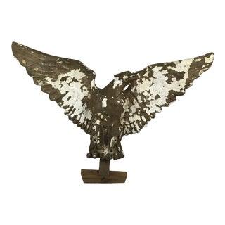 Large Plaster Eagle Sculpture For Sale