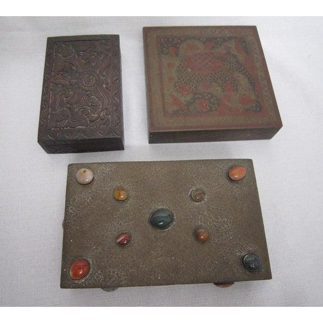Boho India Boxes - Set of 3 - Image 2 of 6