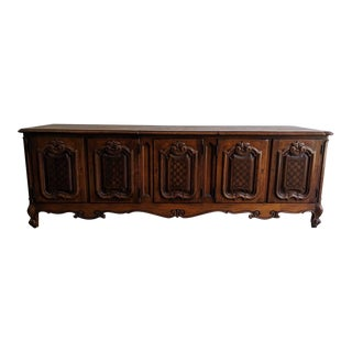 Vintage Pierre Bartett French Provincial Style Credenza For Sale