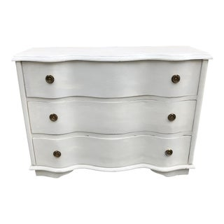 Vintage Gustavian Dove Wing Dresser For Sale