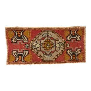 Vintage Decorative Turkish Rug - 1′7″ × 3′3″