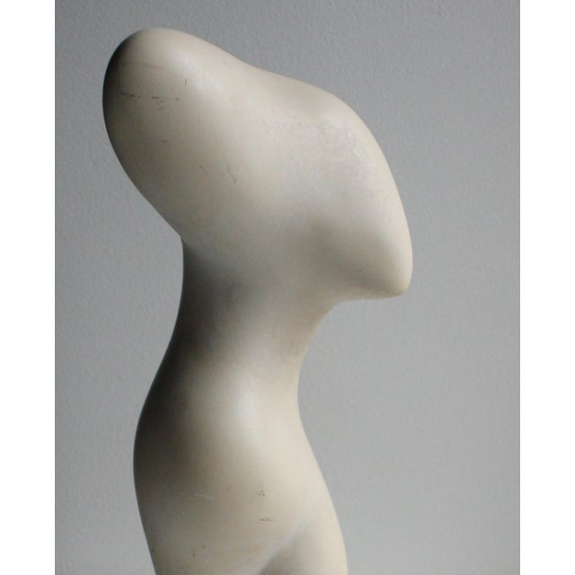 Modern Abstract Female Torso Venus Sculpture - Image 6 of 7
