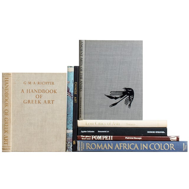 Ancient Art & Architecture Books - Set of 8 - Image 1 of 2