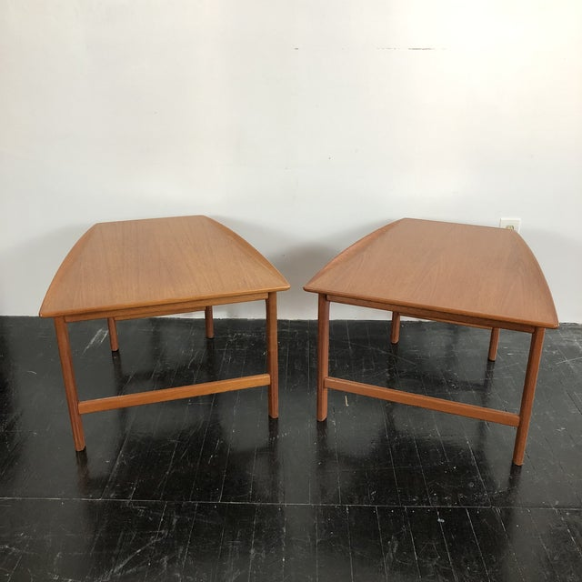 1960s 1960's Teak Frisco Designed by Folke Ohlsson Tables - a Pair For Sale - Image 5 of 13