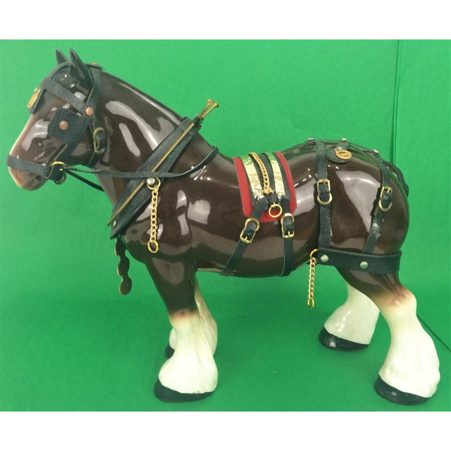 Brooks Brothers Porcelain Draught Horse Figure - Image 2 of 9