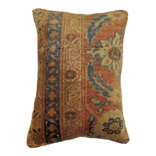 Antique Persian Sultanabad Rug Pillow