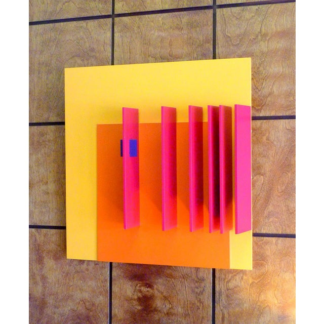 Mid-Century Modern Structurist Relief No. 71 by David John Barr For Sale - Image 3 of 5