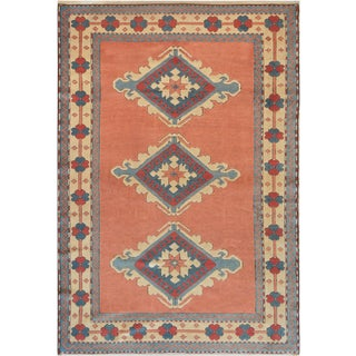"Mansour High Quality Oushak Rug - 5'8"" X 8'4"" For Sale"