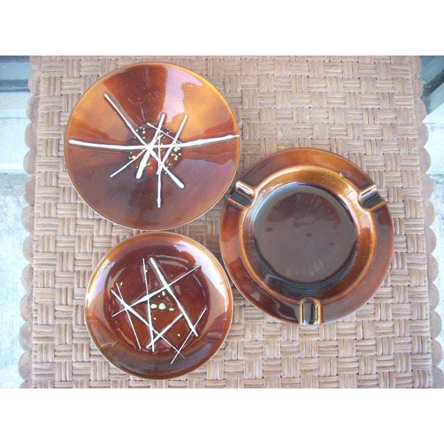 Enamel on Copper Plates - Set of 3 - Image 2 of 7