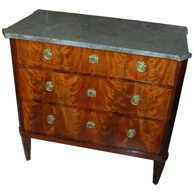 Swedish Mahogany Chest - Image 1 of 1
