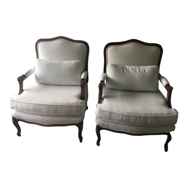 Harper Bergere Chairs - A Pair - Image 1 of 7