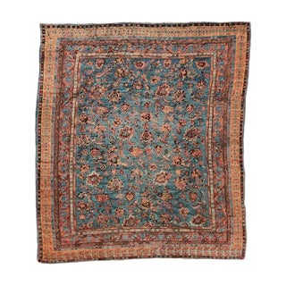 Antique Angora Oushak Carpet For Sale