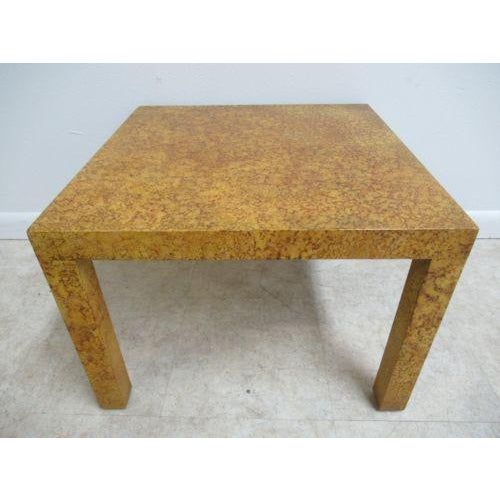 Henredon Decorator Faux Painted Coffee Table For Sale - Image 10 of 10