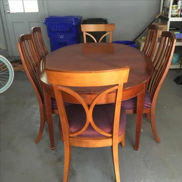 Grange France Dining Table With Six Chairs - Image 10 of 10
