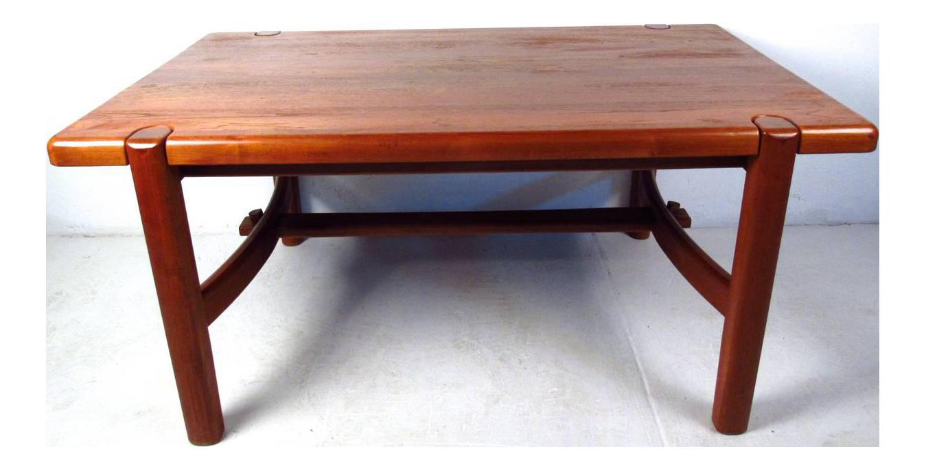 Mid Century Modern Danish Teak Dining Room Table