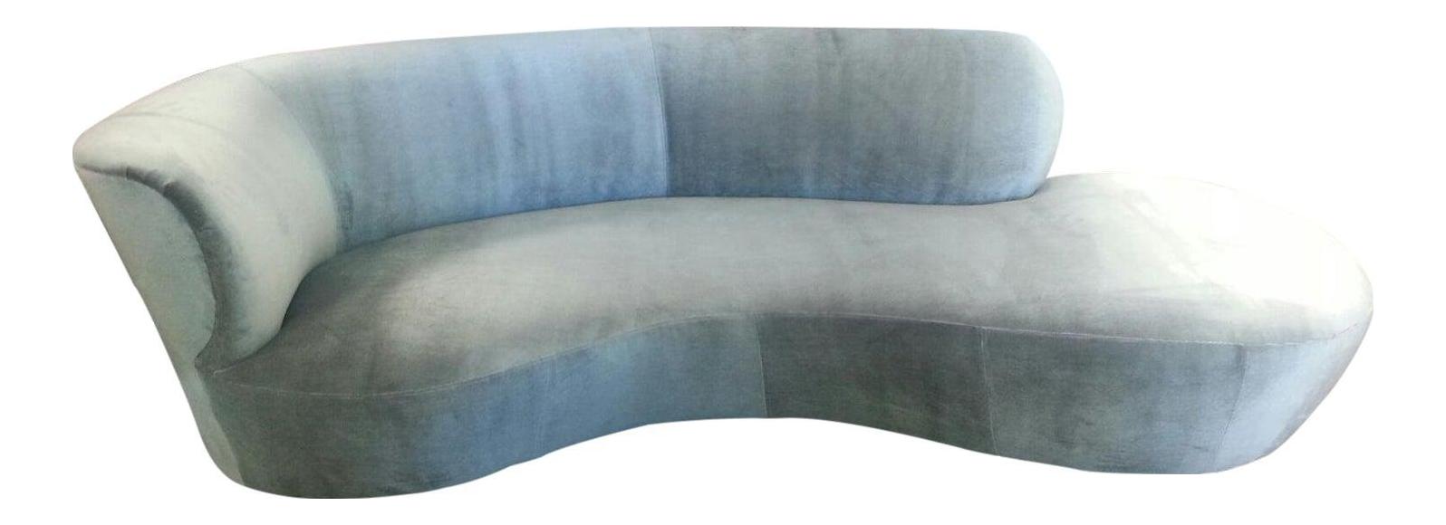 Mid Century Modern Style Chaise Lounge Chairish