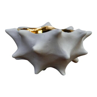 Tiny 18K Gold Conch Bowl