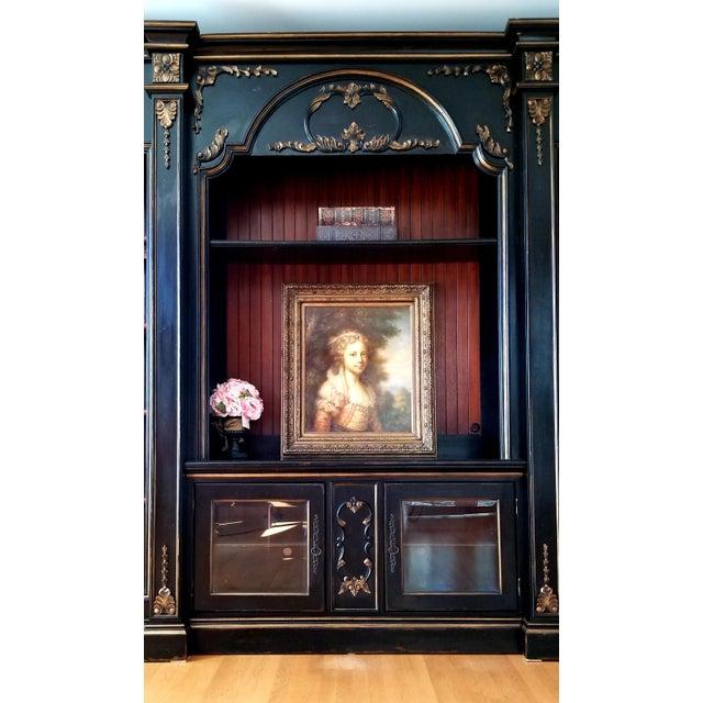 Custom Habersham Influenced Book Shelves For Sale - Image 11 of 13