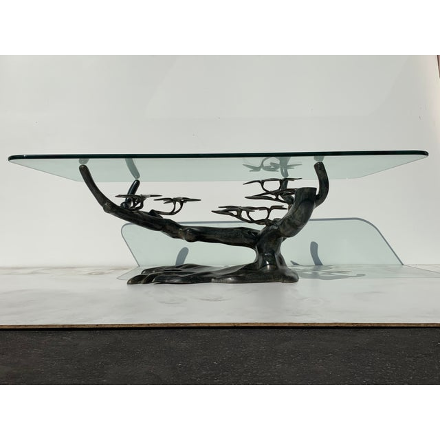 Willy Daro Bonsai Tree Brass Table For Sale - Image 13 of 13