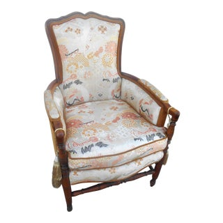 Vintage Heywood Wakefield Era Club / Fireside Arm Chair