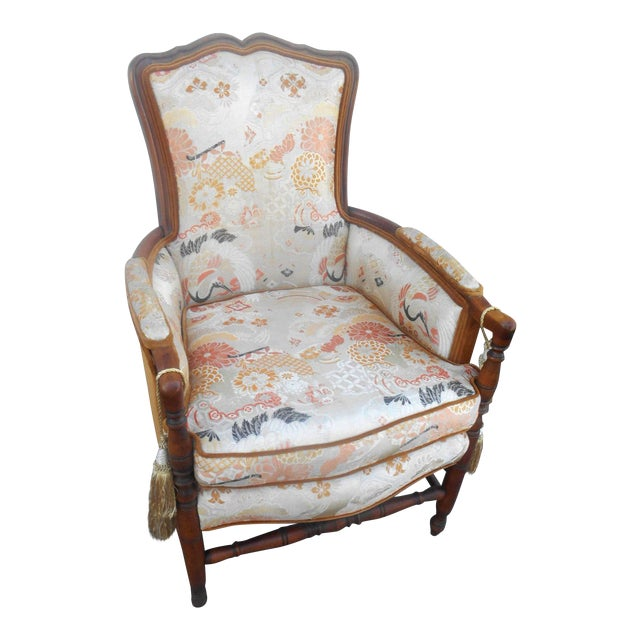 Vintage Heywood Wakefield Era Club / Fireside Arm Chair For Sale