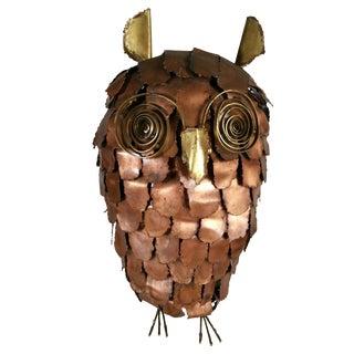Monumental Brutalist Owl Mid-Century Modern, Italy For Sale
