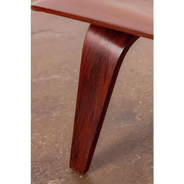 Rare Eames Pre-Production Rosewood LCW - Image 8 of 11