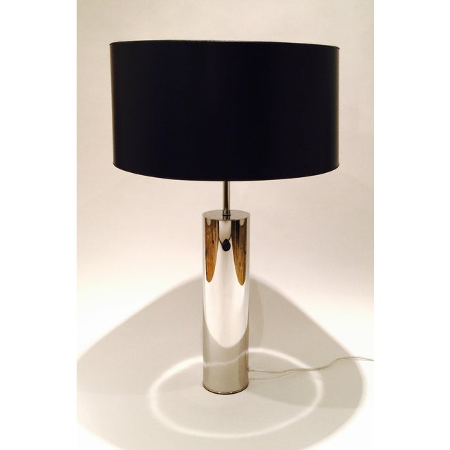 Chrome Table Lamp by Nessen - Image 2 of 6