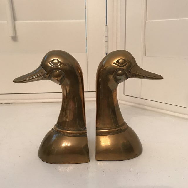 Leonard Silver Mfg Co. solid brass collection. Pair of 6 inch bookends.