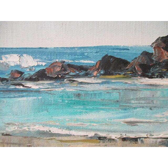 California Plein Air Seascape Painting - Image 4 of 9