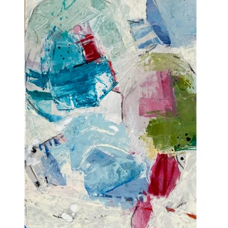 """""""Let Them Meet the Real You (Study)"""" Contemporary Abstract Mixed-Media Painting by Gina Cochran For Sale"""