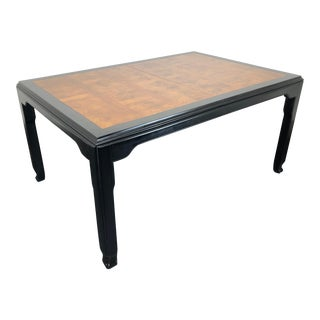 Century Chin Hua by Raymond Sobota Asian Chinoiserie Dining Table For Sale