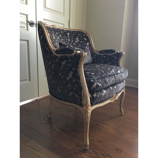 French 1990s French Schumacher Chair For Sale - Image 3 of 7