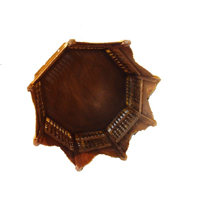 Moroccan 8 Sided Coffee Table - Image 8 of 10