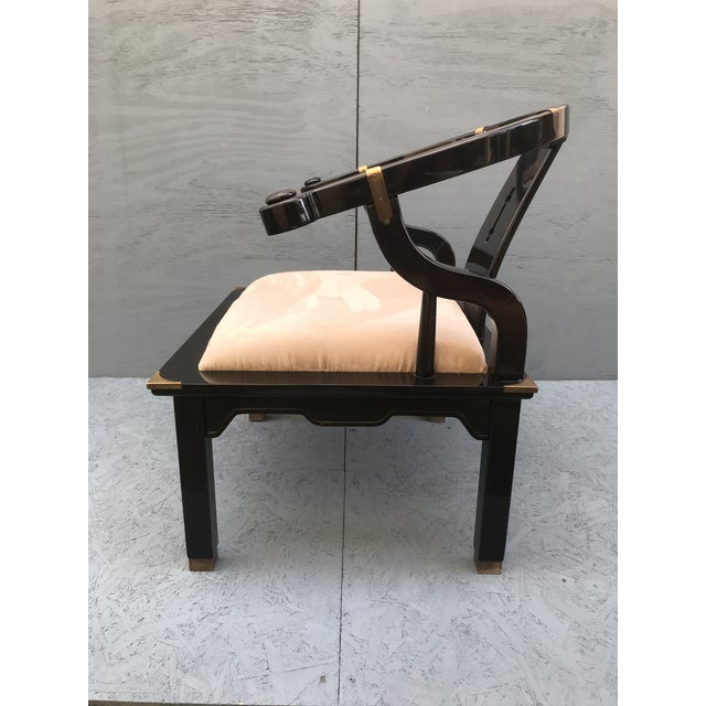 Asian James Mont Ming Chair For Sale - Image 3 of 9
