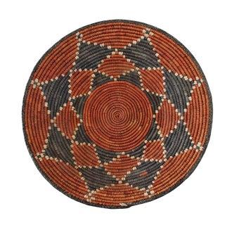 African Grass Woven Basket