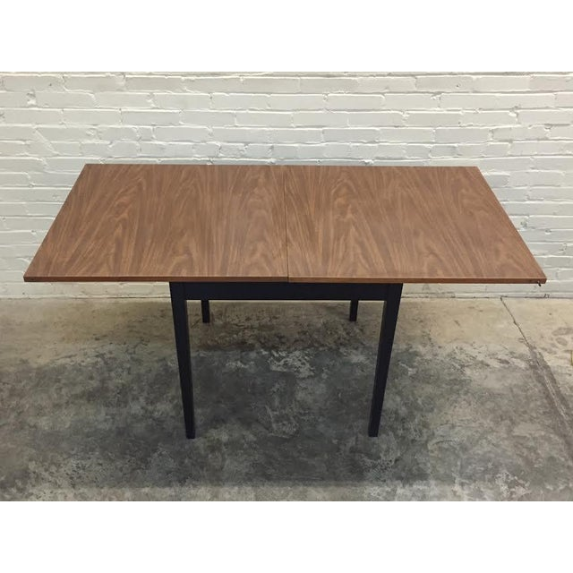 Mid-Century Modern Folding Top Dining/Card Table - Image 2 of 7