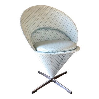 Verner Panton Swivel Cone Chair For Sale