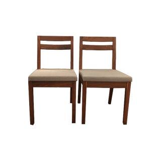De La Espada Dining Chairs - A Pair For Sale